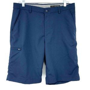3/20 Grey Norman Navy Golf Chino Shorts